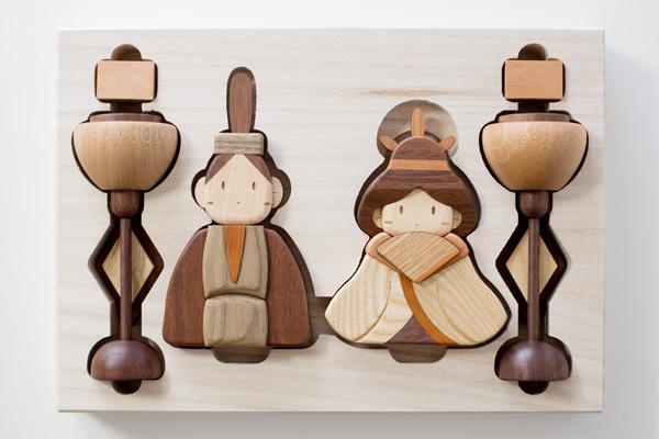雛人形木箱拡大