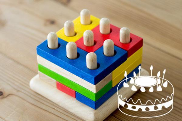 ケーキに見立て遊び