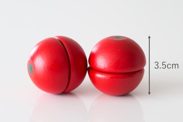 ミニトマトのサイズ