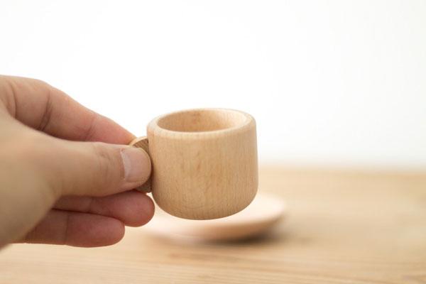 おままごと用コーヒーカップサイズ感