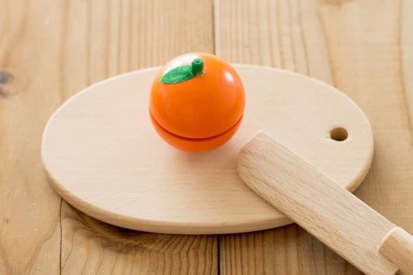 おままごと食材オレンジメイン拡大