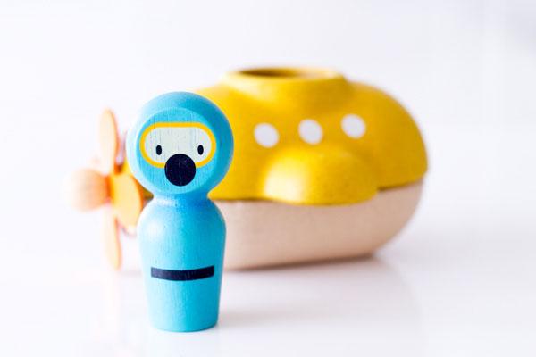 人形と潜水艦