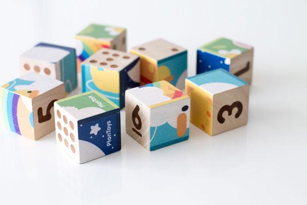 パズルキューブで絵合わせ