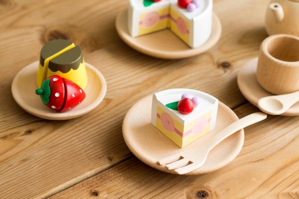 ケーキとプリンのセット