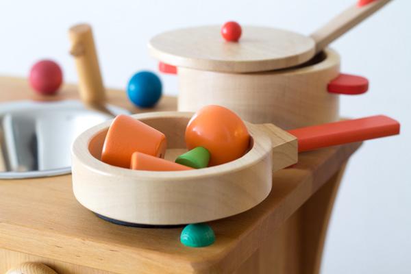 食材と木製調理用具セット
