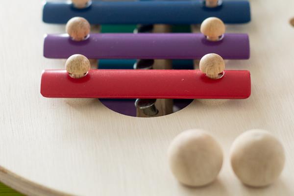 鉄琴の仕掛け拡大