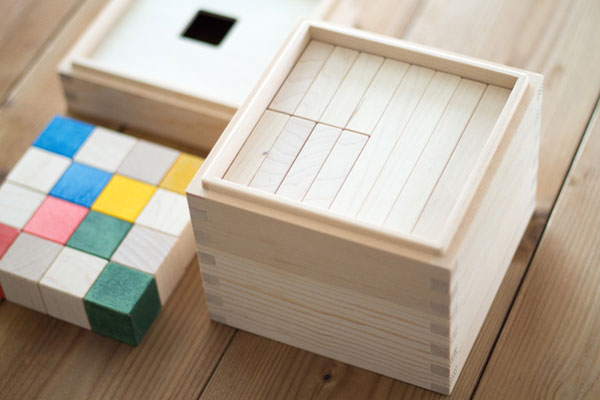 ベースの木箱の蓋