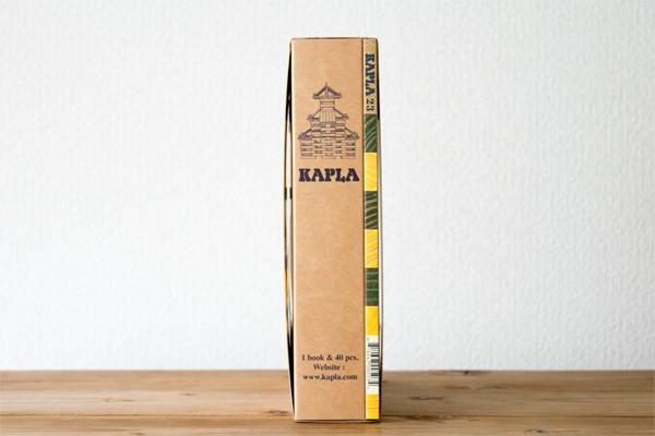 カプラカラー黄のパッケージ側面