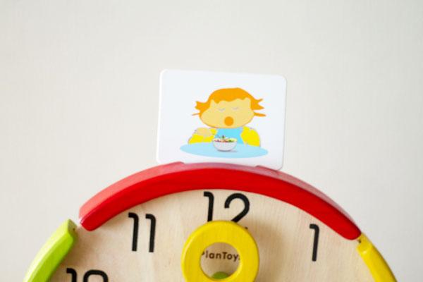 カードを時計にセット