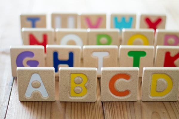 アルファベットA-Z(2)メイン拡大