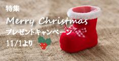クリスマプレゼントキャンペーン