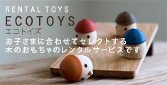 木のおもちゃのレンタル